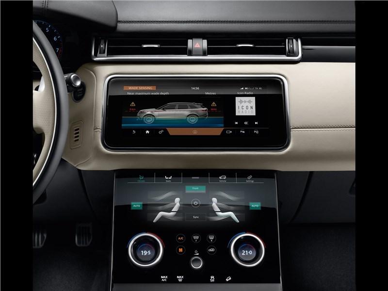 Land Rover Range Rover Velar 2018 центральная консоль