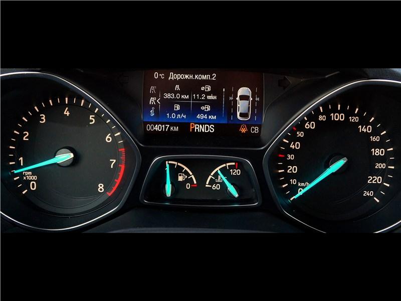 Ford Kuga 2017 приборная панель