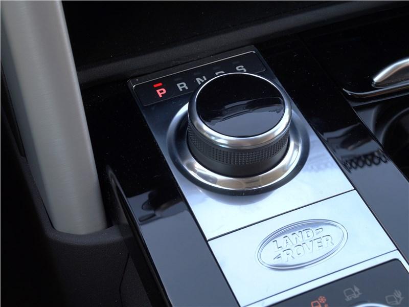 Land Rover Discovery 2017 шайба выбора режимов движения