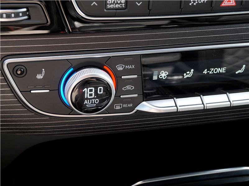 Audi Q7 S-Line 2016 управление климатом