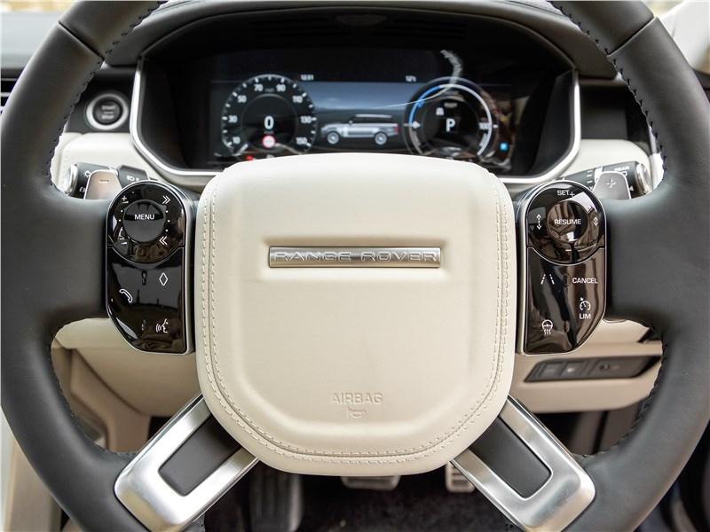 Land Rover Range Rover PHEV 2018 руль