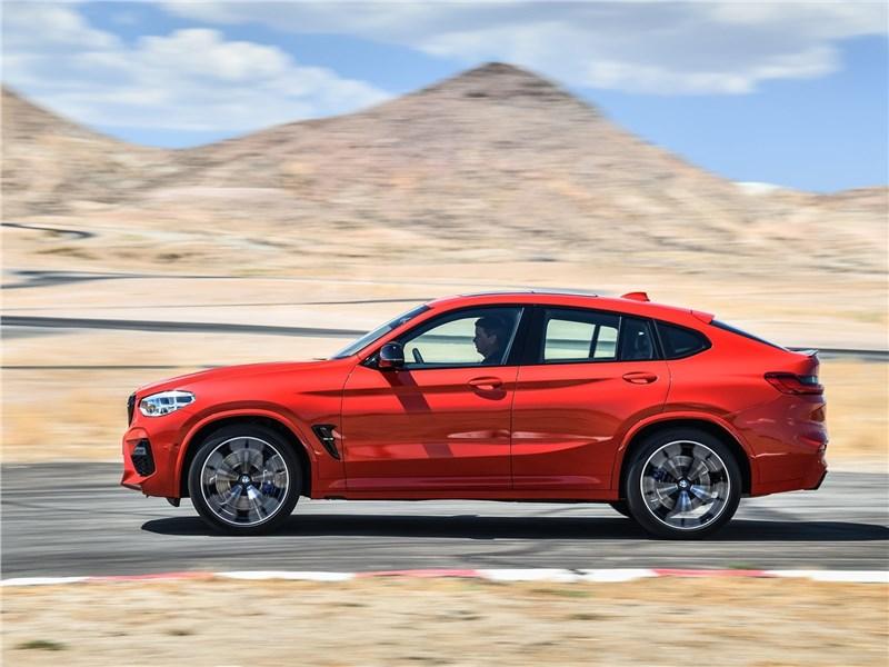 BMW X4 M Competition 2020 вид сбоку