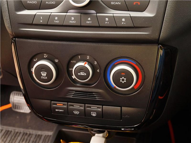 Lada Granta Cross 2019 центральная консоль
