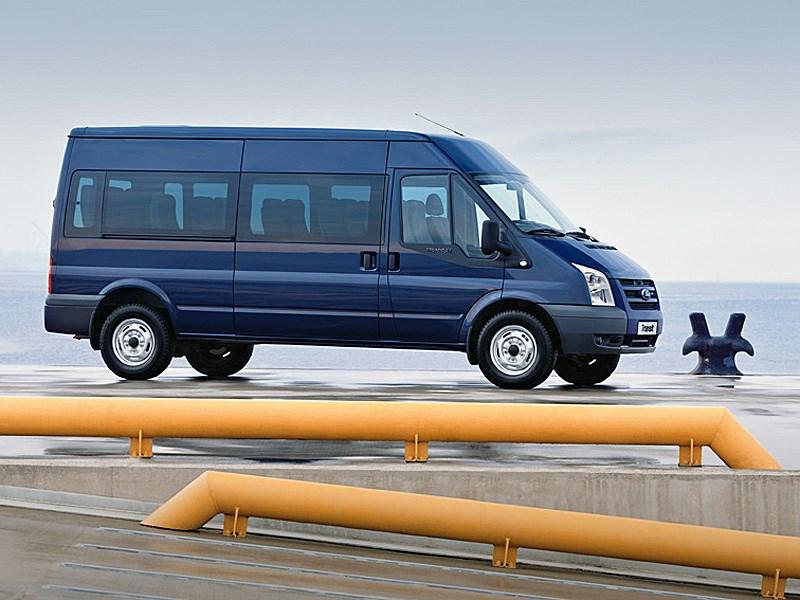 Ford Tranzit 2006 микроавтобус длинная база средняя крыша фото 3