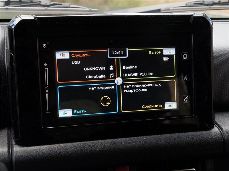 Suzuki Jimny 2019 монитор