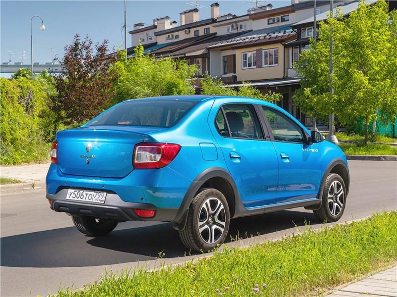 Renault Logan Stepway 2018 вид сзади