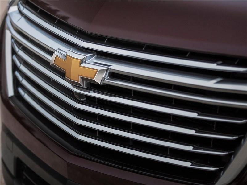 Chevrolet Traverse (2021) решетка радиатора