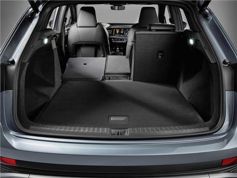Audi Q4 e-tron (2022) багажное отделение