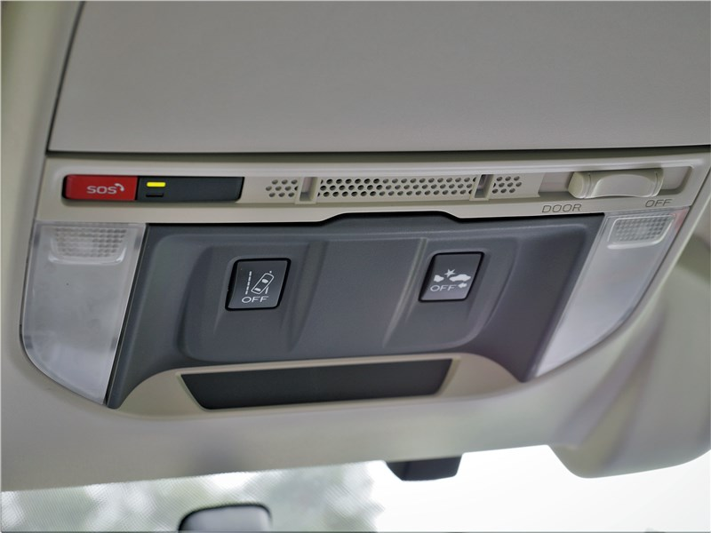 Subaru Forester Sport (2019) салон