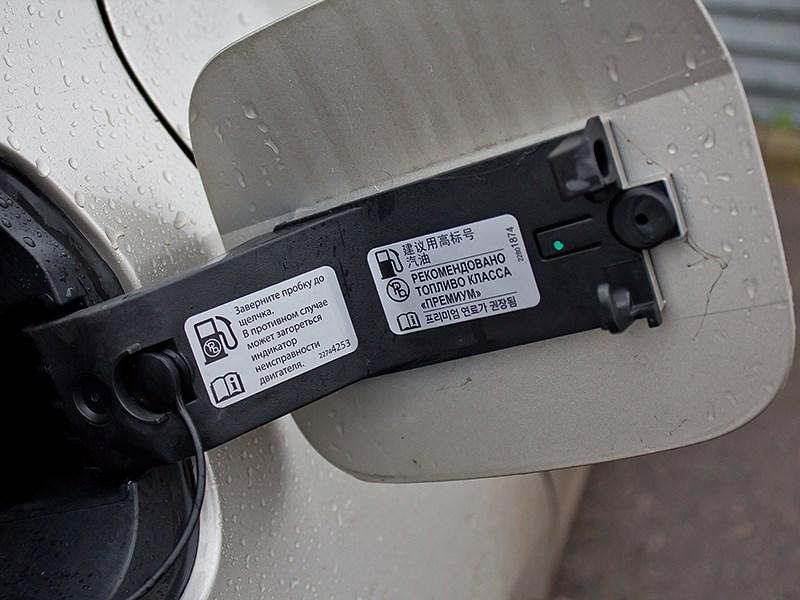 Cadillac ATS 2012 крышка бензобака 2