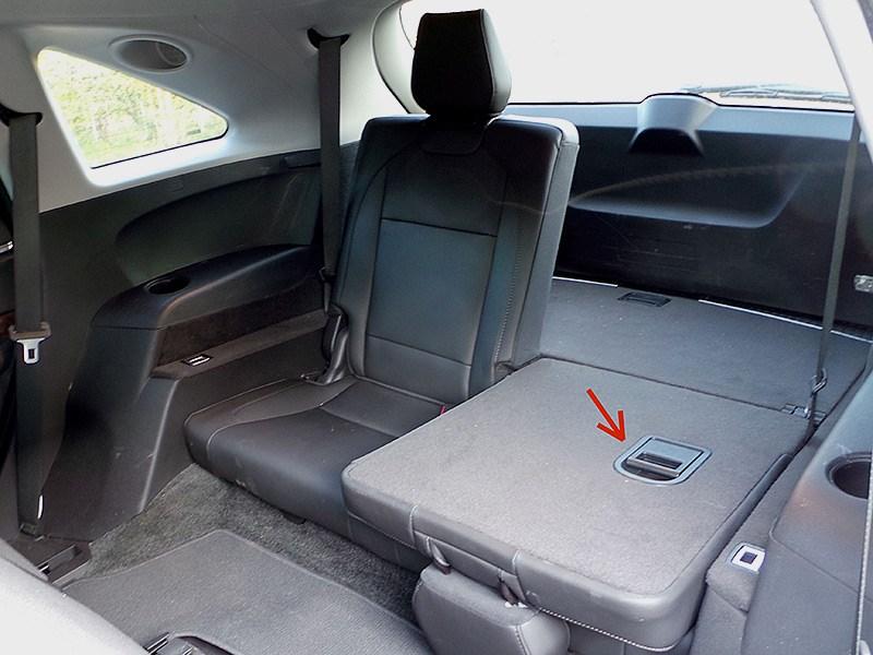 Acura MDX 2014 кресла третьего ряда