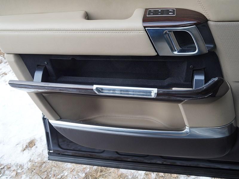 Range Rover LWB 2014 дополнительные емкости