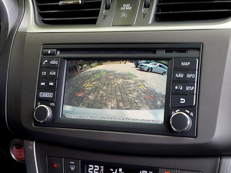 Nissan Tiida 2015 монитор