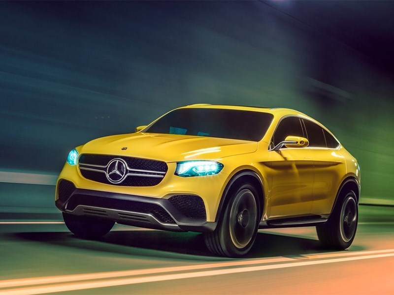 Новый Mercedes-Benz GLC - Mercedes-Benz GLC Coupe Concept 2015 Полна коробочка
