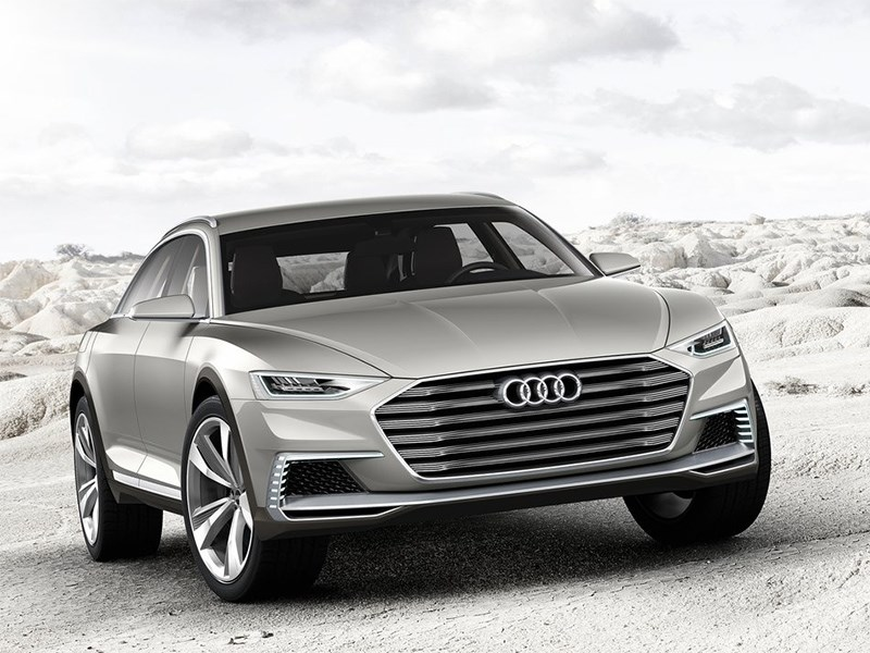 Новый Audi Prologue - Audi Prologue Allroad Concept 2015 На зарядку!