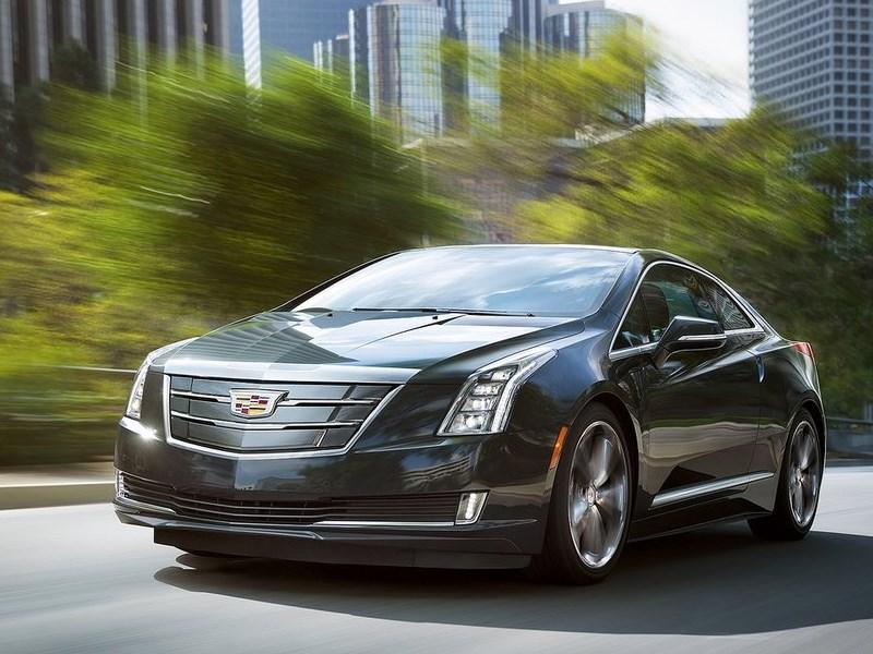 Cadillac ELR 2016 Курс фитнеса