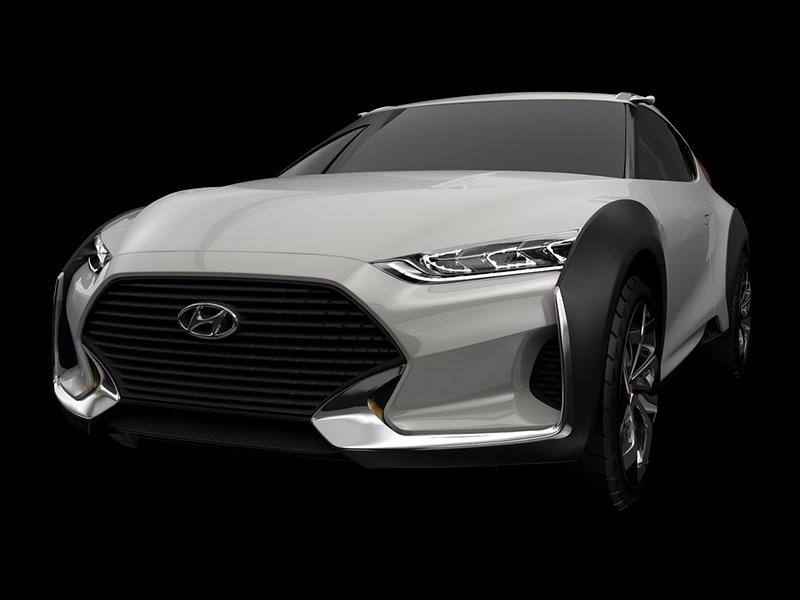 Hyundai Enduro Concept 2015 вид спереди