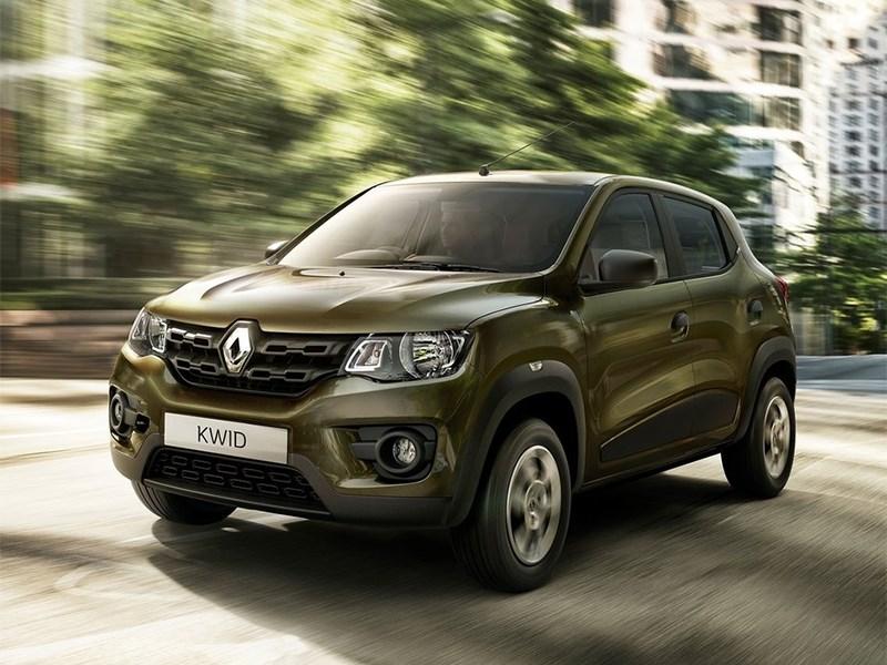 Новый Renault Kwid - Renault Kwid 2016 вид спереди