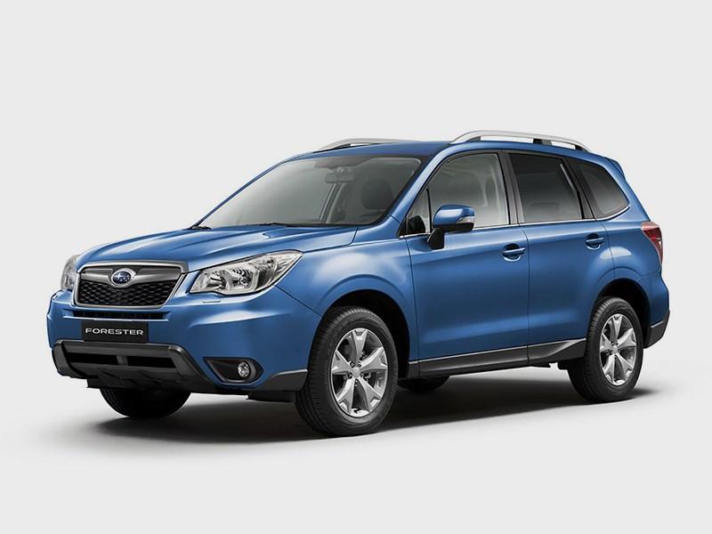 Новый Subaru Forester - Subaru Forester 2015 вид спереди