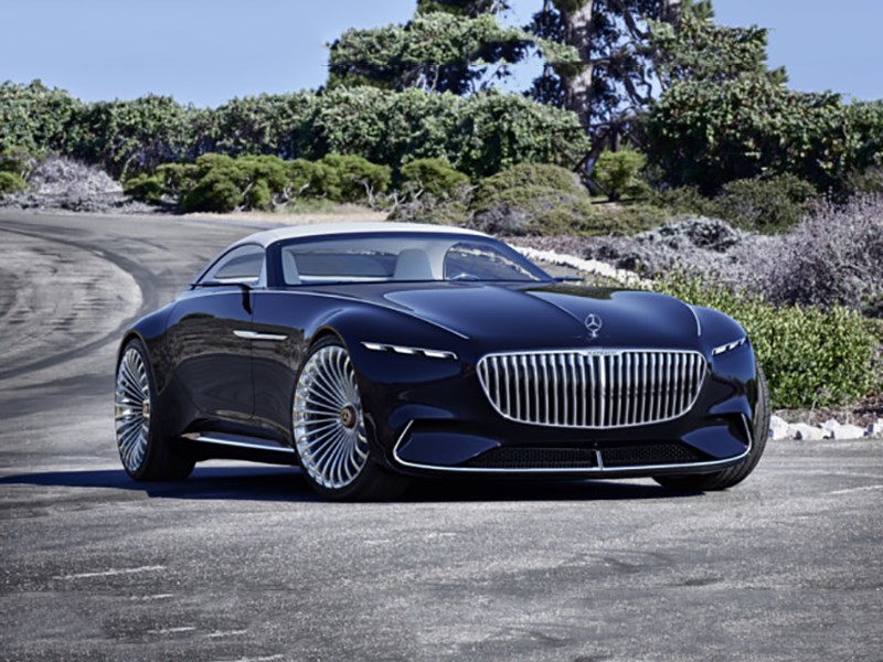 У Mercedes-Benz появится электрический представительский седан