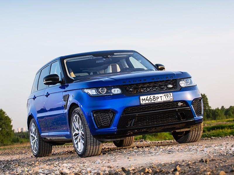 Самые быстрые внедорожники могут поспорить со спорткарами (BMW X5, Mercedes-Benz ML-Klasse, Porsche Cayenne, Land Rover Range Rover, Land Rover Range Rover Sport, Volkswagen Touareg) Range Rover Sport