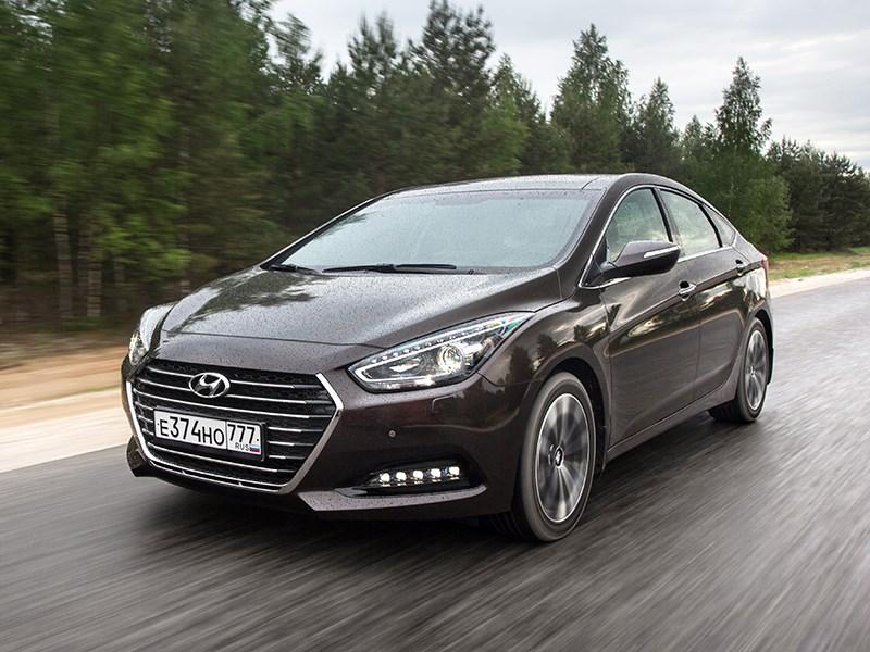 Hyundai i40 2015 Со знаком препинания