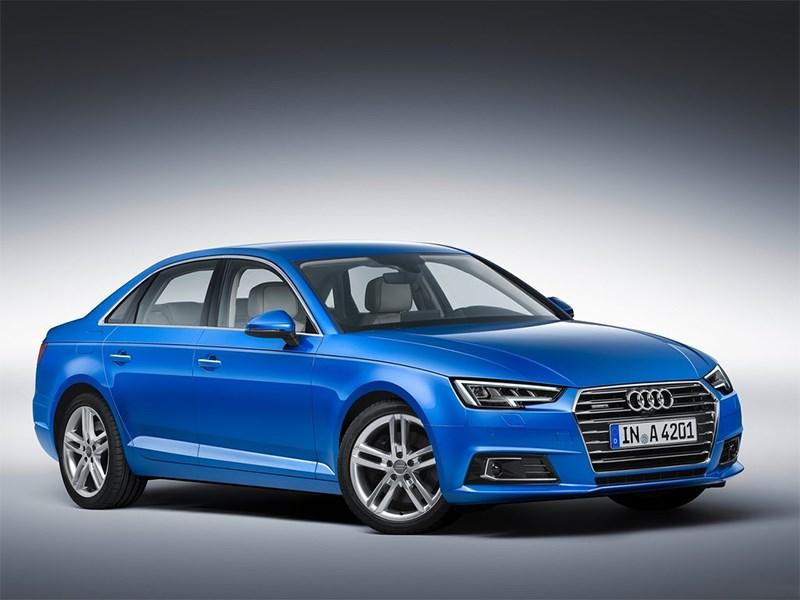 Новый Audi A4 - Audi A4 2016 Ингольштадтская диета