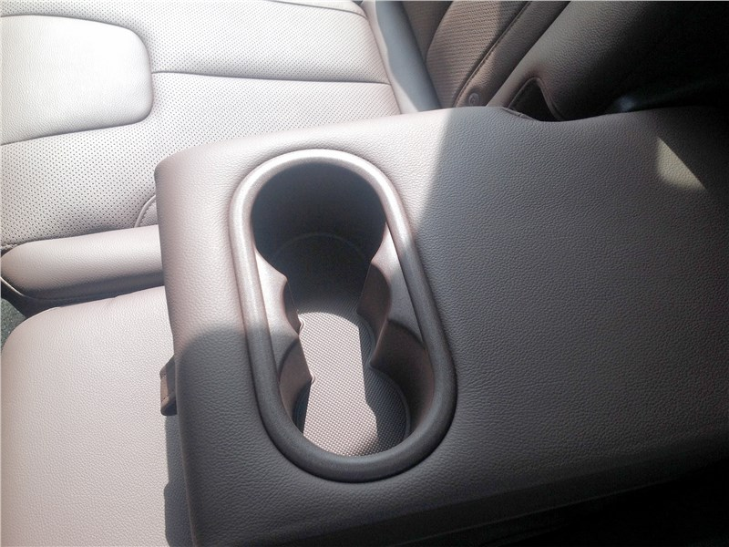 Hyundai Santa Fe 2019 задний ряд