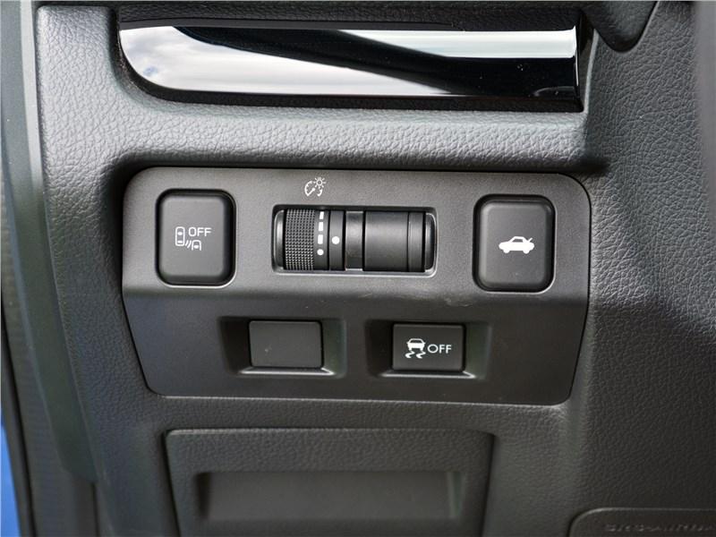 Subaru WRX STI (2018) выбор режимов движения