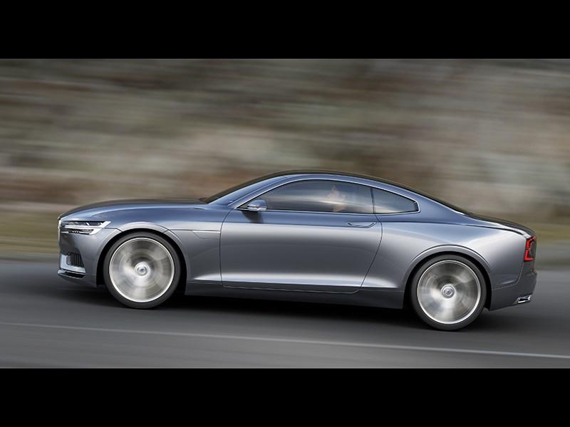 Volvo Coupe концепт 2013 вид сбоку фото 9