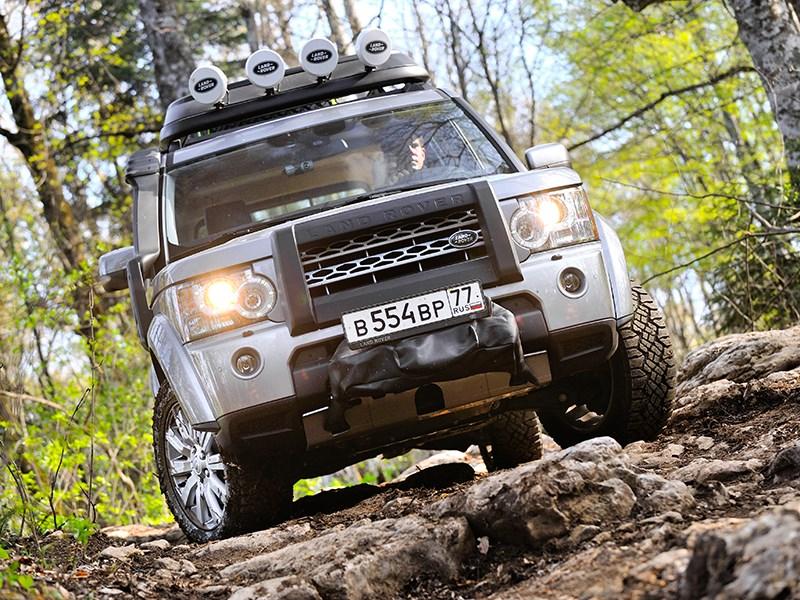Открывая Россию с Land Rover Discovery