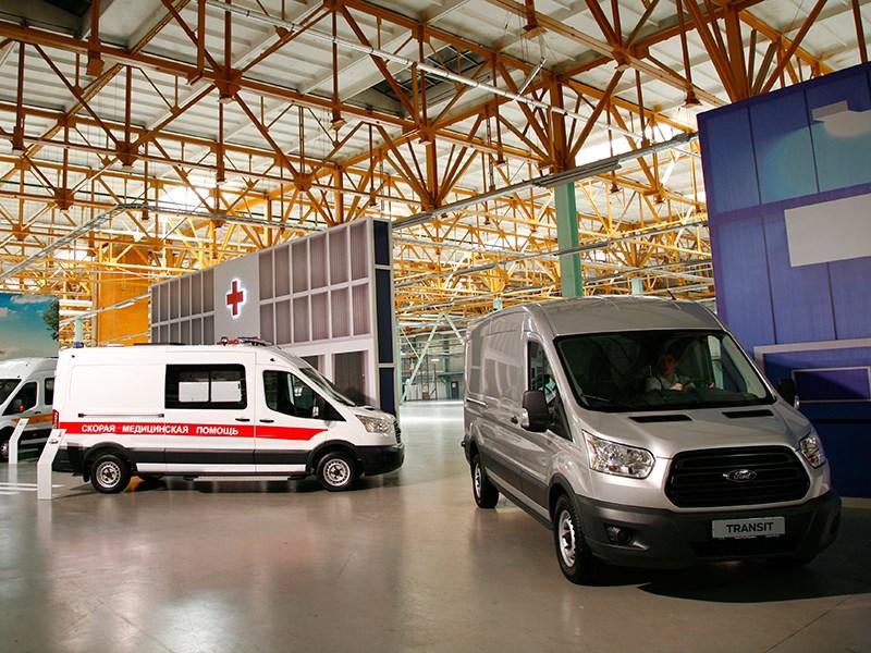 Ford Transit 2015 Амплуа – работа
