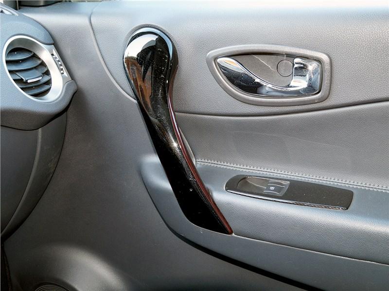 Renault Koleos 2014 внутренняя ручка двери
