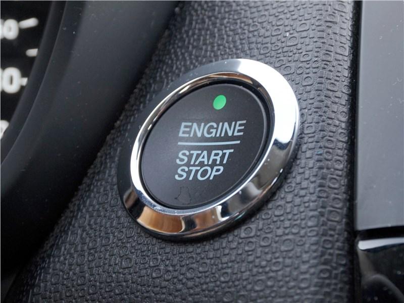 "Ford EcoSport 2018 кнопка ""старт-стоп"""