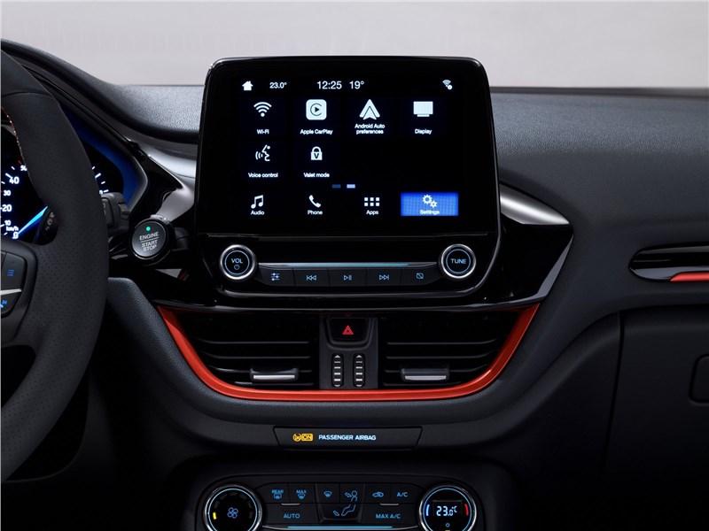 Ford Fiesta 2017 дисплей