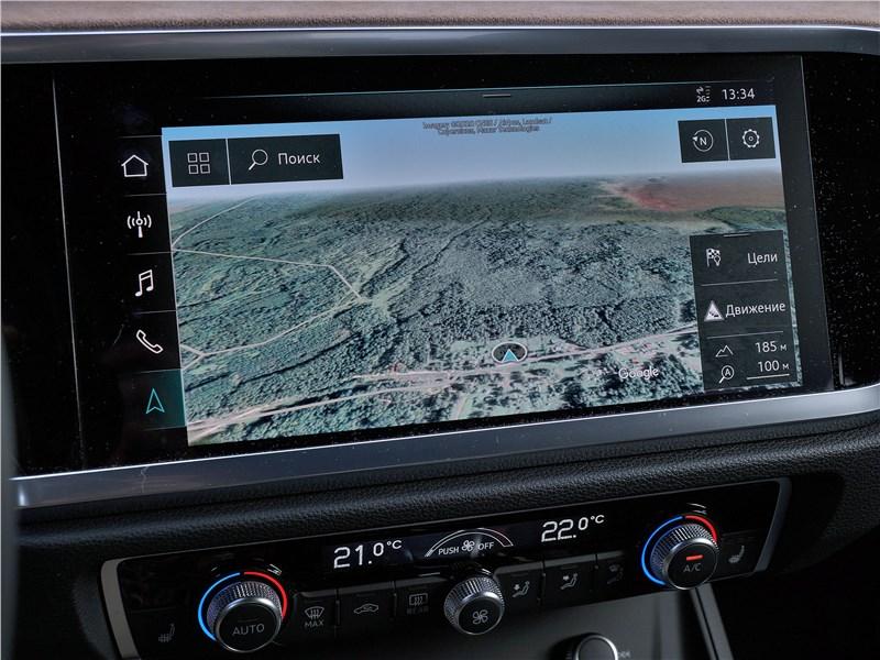 Audi Q3 2019 сенсорный дисплей