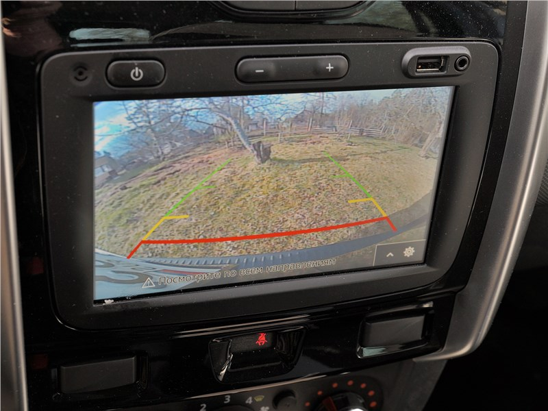 Lada Largus Cross (2020) монитор
