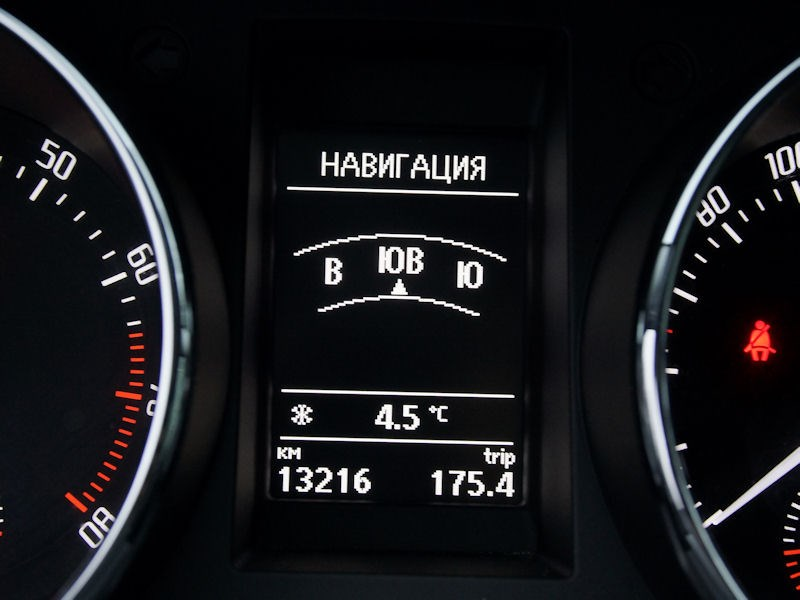 Skoda Yeti 2013 навигация