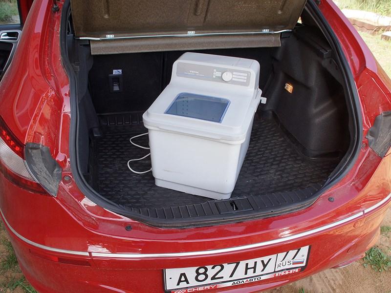 Chery M11 2013 багажное отделение