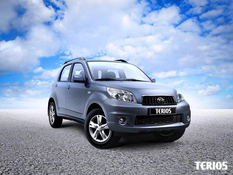 Серьезные игрушки (Daihatsu Terios, Suzuki Jimny, Mitsubishi Pajero Pinin) Terios поколение I-II