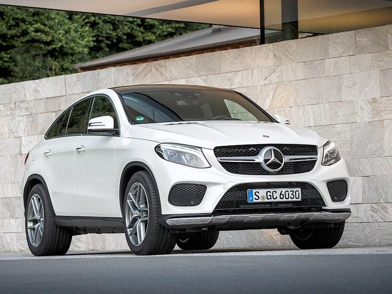 Mercedes-Benz GLE Coupe 2016 Пожиратель пространства