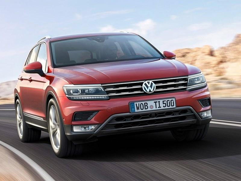 Volkswagen Tiguan 2017 Сама солидность