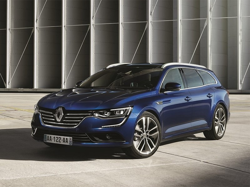 Новый Renault Talisman Estate - Renault Talisman Estate 2016 Французский шарм