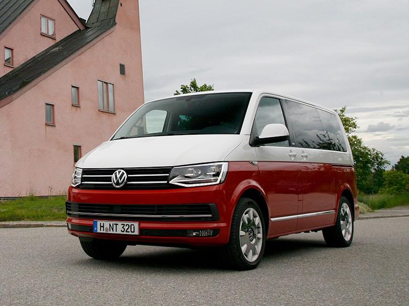 Volkswagen Multivan 2015 Шестая ступень