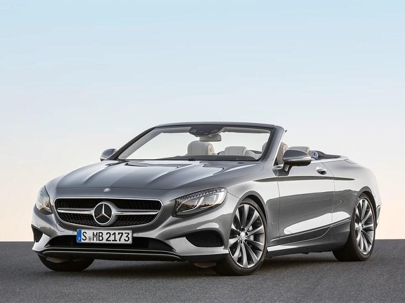 Новый Mercedes-Benz S-Class Cabriolet - Mercedes-Benz S-Class Cabrtiolet 2016 Самый-самый