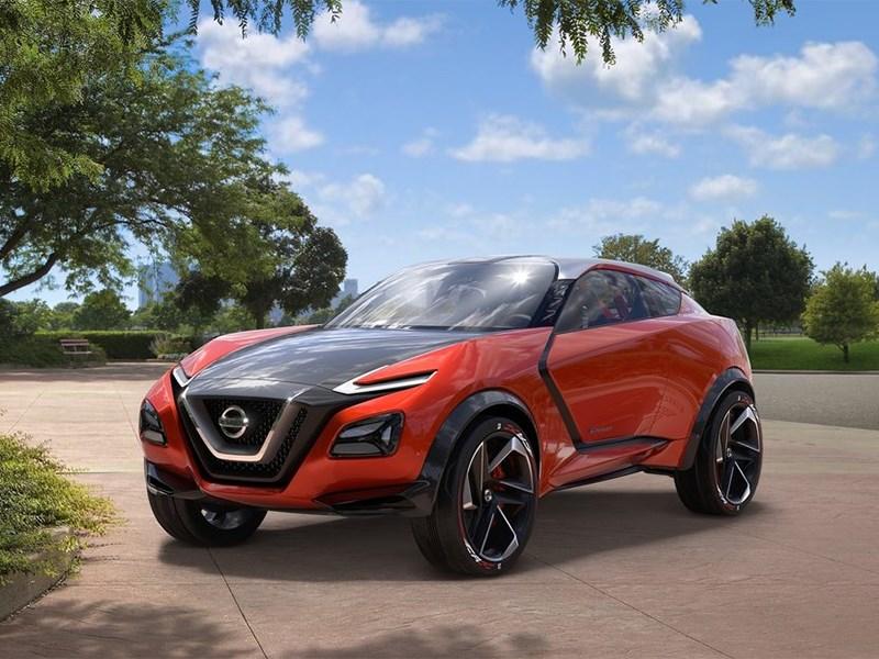 Новый Nissan Gripz - Nissan Gripz Concept 2015 Веломания