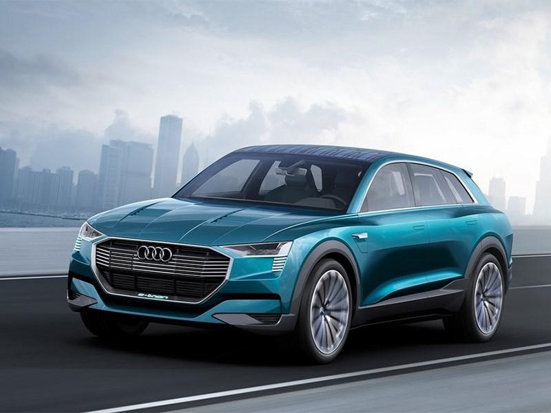 Новый Audi e-Tron quattro - Audi e-Tron quattro 2015 Электрический ответ