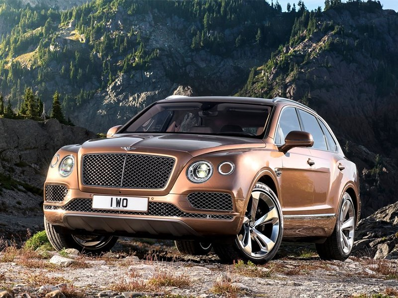 Bentley Bentayga 2016 Пионер