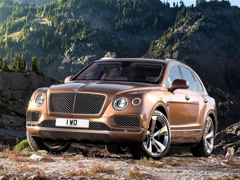 В России скоро начнутся продажи внедорожников Bentley Bentayga