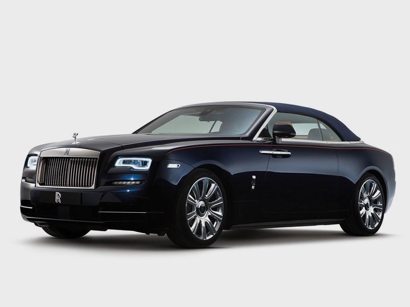 Rolls-Royce Dawn 2017 Традиции и новации